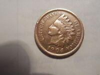 1904 INDIAN HEAD PENNY/CENT  VG CONDITION. BUT YOU DECIDE