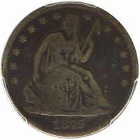 1875 CC 50C LIBERTY SEATED HALF DOLLAR PCGS VG8