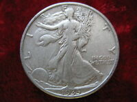1935 S WALKING LIBERTY SILVER HALF DOLLAR BETTER GRADE COIN CIRCULATED UNGRADED