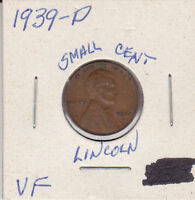 1939 D LINCOLN CENT