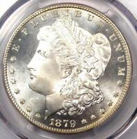 1879-S MORGAN SILVER DOLLAR $1 - PCGS MINT STATE 67 PQ PLUS GRADE - $1,725 VALUE