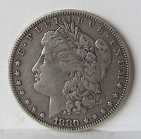1880 MORGAN DOLLAR VF