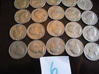 1982 QUARTER ROLL BOTH P AND D MIXED 40 COINS CIRCULATED 6