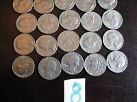 1982 QUARTER ROLL BOTH P AND D MIXED 40 COINS CIRCULATED 8