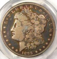 1895-O MORGAN SILVER DOLLAR $1 - PCGS VG DETAILS -  DATE CERTIFIED COIN
