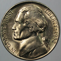 1952  S JEFFERSON NICKEL   CHOICE/GEM BU COIN 1 PC