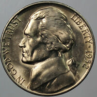 1952 S FULL STEP FS GEM BU JEFFERSON NICKEL SP
