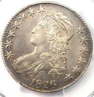1826 CAPPED BUST HALF DOLLAR 50C O 108A   PCGS AU DETAILS   R DATE COIN