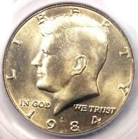 1984 P KENNEDY HALF DOLLAR 50C COIN   CERTIFIED PCGS MS67   $750 VALUE