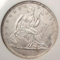 1861 O SEATED LIBERTY HALF DOLLAR 50C COIN SS REPUBLIC SHIPWRECK W 03   NGC