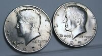 1977 P AND D KENNEDY HALF DOLLAR.ABOUT UN CIRCULATED AU