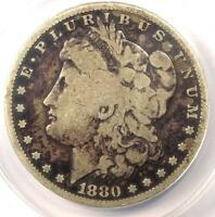 1880 CC MORGAN SILVER DOLLAR $1   CERTIFIED ANACS G6 GOOD    CARSON CITY
