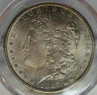 1887-S $1 PCGS MINT STATE 64