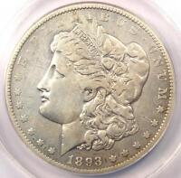1893-O MORGAN SILVER DOLLAR $1 - ANACS VF25 DETAILS -  DATE - CERTIFIED COIN