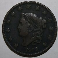 1829 US LARGE CENT V75