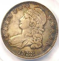1833 CAPPED BUST HALF DOLLAR 50C O 108   ANACS AU50    CERTIFIED COIN
