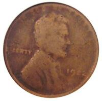 1922 NO D STRONG REVERSE LINCOLN WHEAT CENT 1C   ANACS G4