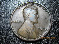 1922 D LINCOLN WHEAT CENT    SOLID KEY ALBUM FILLER COIN
