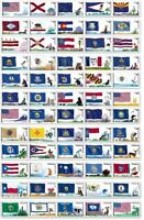 US 2008 2012 FLAGS OF OUR NATION COMPLETE SET OF 60 STAMPS MINT NH COIL STAMPS