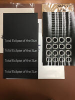 10 TOTAL ECLIPSE OF THE SUN 2017 COMMEMORATIVE PANES- AND 4 ENVELOPES  NR