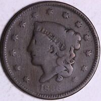 1836 LARGE CENT R8SF