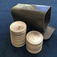 ROLL OF  25  2013 AUSTRALIA PERTH MINT 1/2 OZ .999 SILVER PACIFIC WAR MEMORIAL