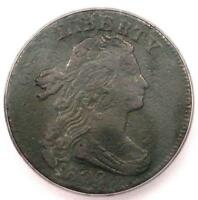 1802 1/000 DRAPED BUST LARGE CENT 1C S-228 - ICG VF30 DETAIL -  COIN VARIETY