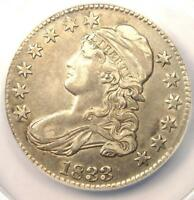 1833 CAPPED BUST HALF DOLLAR 50C O 112   ANACS AU50 DETAIL    CERTIFIED COIN