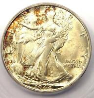 1944-S WALKING LIBERTY HALF DOLLAR 50C COIN - CERTIFIED ICG MINT STATE 65 - $338 VALUE