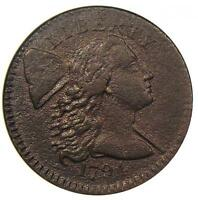 1794 LIBERTY CAP LARGE CENT 1C - ANACS EXTRA FINE  DETAILS EF - NET VF30 -  COIN