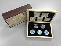 2014/15 ROYAL CANADIAN MINT   $20 SILVER COINS: THE GREAT LAKES SERIES
