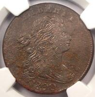 1800 80/79 DRAPED BUST LARGE CENT 1C - NGC EXTRA FINE  DETAILS -   PENNY