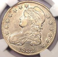 1832 CAPPED BUST HALF DOLLAR 50C O-102 - NGC EXTRA FINE 40 EF40 -  CERTIFIED COIN