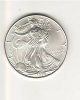 1996 AMERICAN SILVER EAGLE - ONE TROY OUNCE / STAINS 2