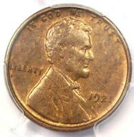 1921-S LINCOLN WHEAT CENT PENNY 1C - PCGS MINT STATE 63 BU -  DATE