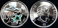 CANADA 2017 150TH MY INSPIRATION 25C SPECIAL WRAP ROLL CIRCULATION COLOR COIN