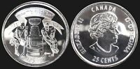CANADA 25 CENT 1892 2017 RCM STANLEY CUP SPECIAL EDITION CIRCULATION COIN