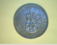 1952 NEW ZEALAND 1/2 PENNY HIGH GRADE BRONZE   NZ 50