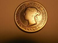 1888 CANADIAN LARGEPENNY/CENT IN GOOD BUT WORN CONDITION. BUT YOU DECIDE