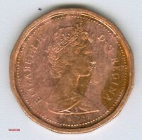 CANADA     1984  CANADIAN   1 CENT COIN MONEY