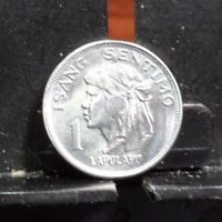 CIRCULATED 1974 1 SENTIMO PHILIPPINES COIN 100617 1