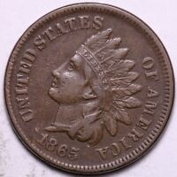 CHOICE XF 1865 INDIAN HEAD CENT PENNY       K6KCB