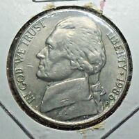 1986 P JEFFERSON NICKEL/5 CENT OLD COLLECTIBLE US COIN >>><<< 15