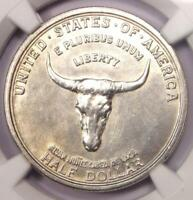 1935 SPANISH TRAIL HALF DOLLAR 50C COIN   NGC UNCIRCULATED DETAILS  UNC MS