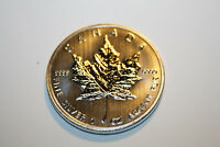 CANADA  2012 1 OZ  9999 SILVER  MAPLE LEAF DESIGN :: 5.00 FACE VALUE