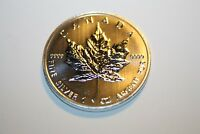 CANADA  2013 1 OZ  9999 SILVER MAPLE LEAF DESIGN :: 5.00 FACE VALUE