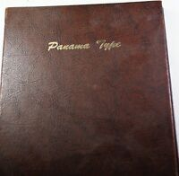 1904 66 REPUBLIC OF PANAMA TYPE COMPLETE SET OF COINS IN A DANSCO FOLDER