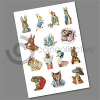 BEATRIX POTTER DECALS STICKERS 2016 2017 & 2018 MULTI LISTING
