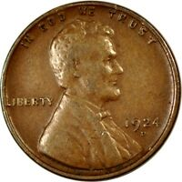 1924-D 1C LINCOLN WHEAT CENT VF  K3066