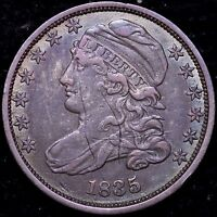 VF 1835 CAPPED BUST DIME  COLOR R10WHM